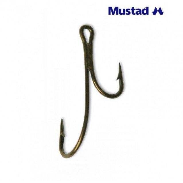 КУКИ MUSTAD RYDER DOUBLE HOOKS 35890BR, 10БР.