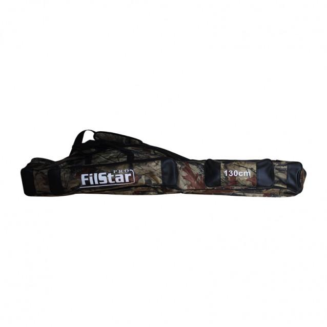 Калъф FilStar двоен - пръчка с макара