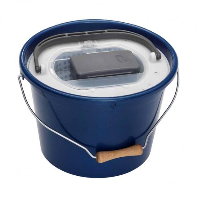 Кофа за жива стръв кръгла+помпа и капак