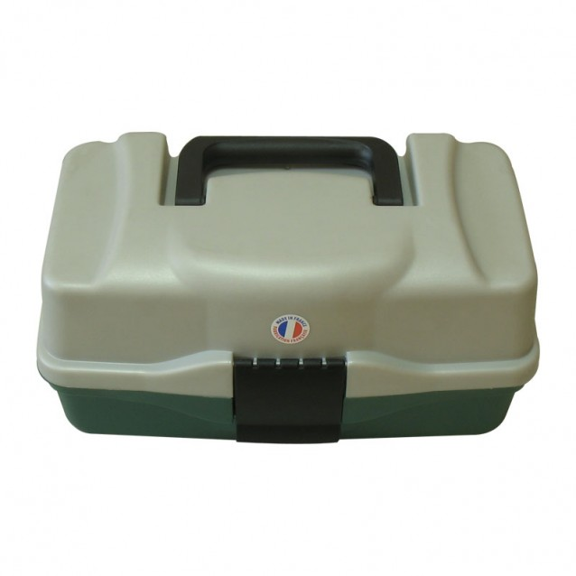 Куфарче 1 ниво зелено овал - (BOX-M1P)