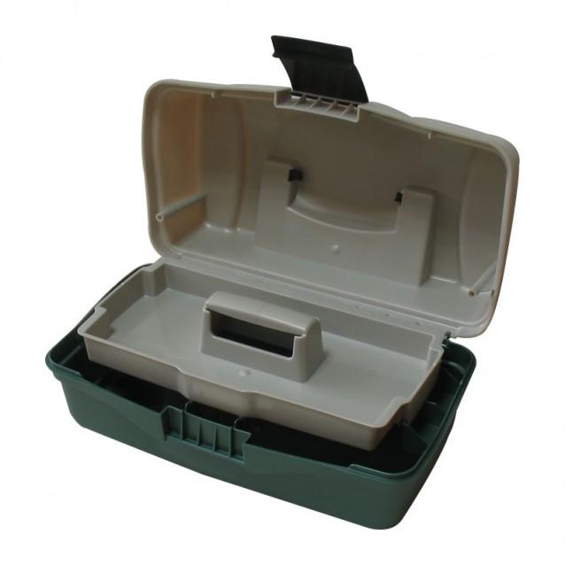 Куфарче 1 тарелка зелено овал - (BOX-M1A)
