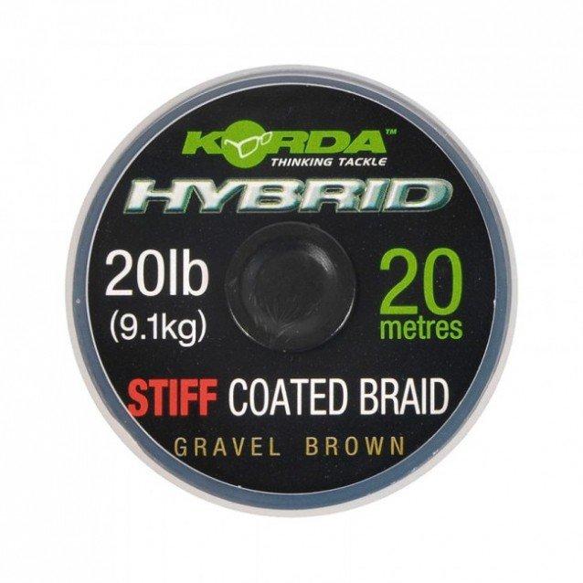 Влакно за поводи Korda Hybrid Stiff 20lb.