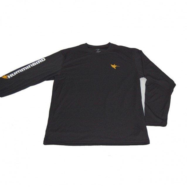 Блуза Humminbird Long Sleeve Performance Tee-Black