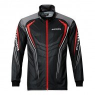 Shimano блуза с цип Full Zip Print Shirt - Black