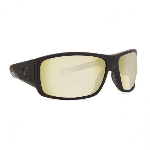 Costa - Cape - Matte Black Ultra - Sunrise Silver Mirror 580