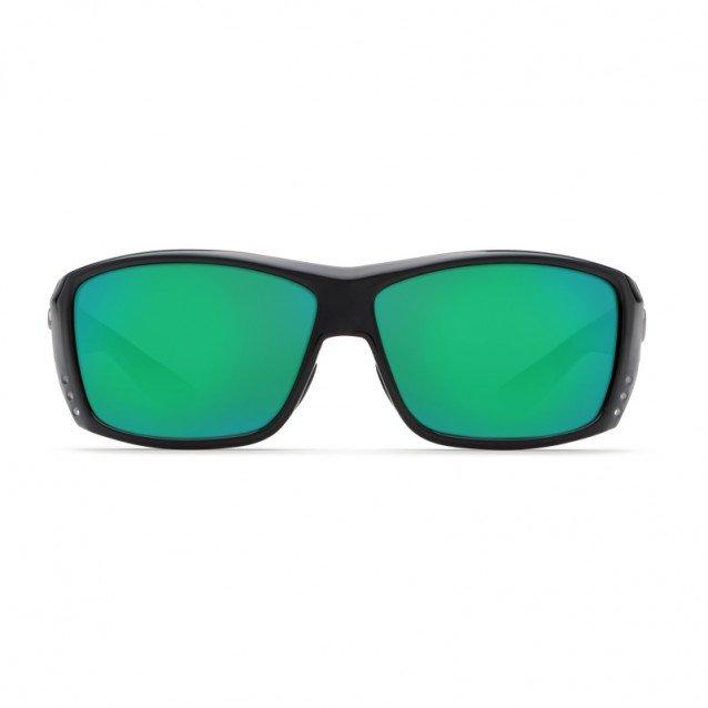 Costa - Fantail - Matte Black / Green Mirror 580P