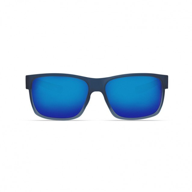 Costa - Half Moon - Bahama Blue Fade - Blue Mirror 580P