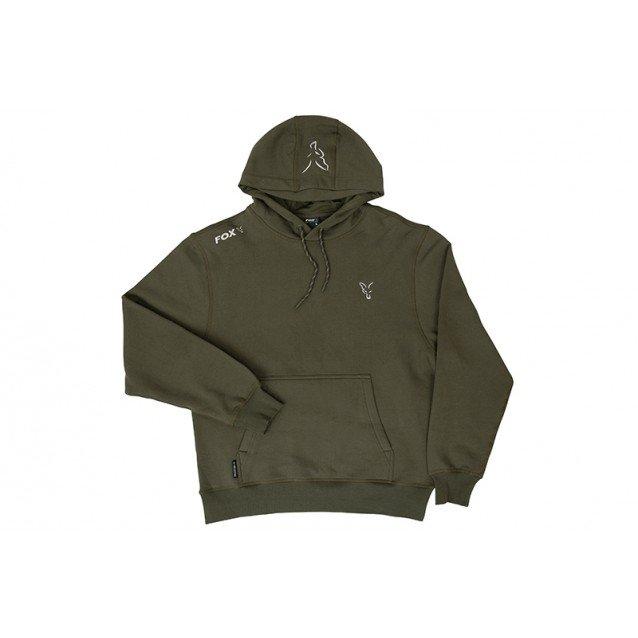 Суичър Fox Collection Green & Silver Hoodie