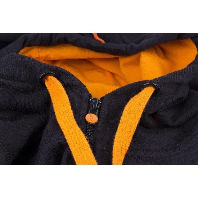 Суитчър Black Orange LW zipped hoodie