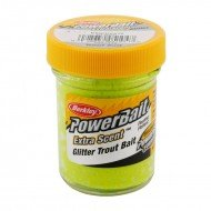 PB - Extra Scent Glitter Trout Bait - Chartreuse