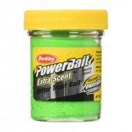 PB - Extra Scent Glitter Trout Bait - Fl. Green Yellow