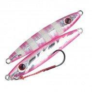 Storm Gomoku Micro Jig - Silver Pink Zebra
