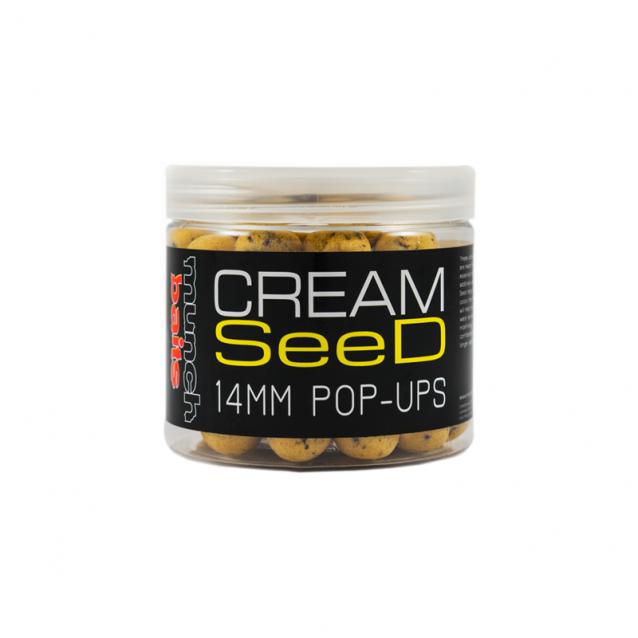 Плуващи топчета Munch Baits Cream Seed Pop Ups