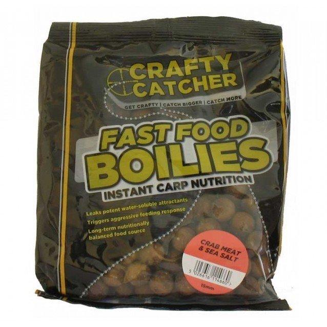 Протеинови топчета - CRC - Fast Food Boilies - Crab meat & Sea salt
