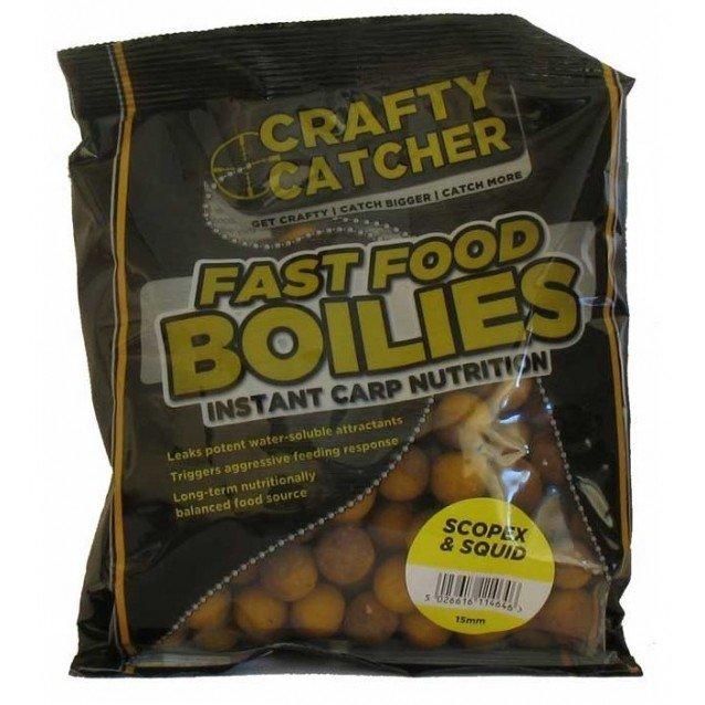 Протеинови топчета - CRC - Fast Food Boilies - Scopex & Squid