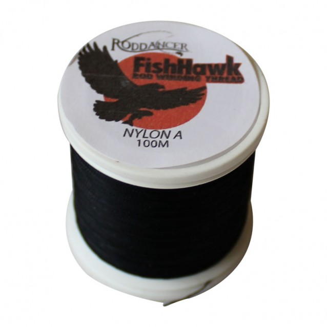 Конец FishHawk Nylon Whipping Thread Black
