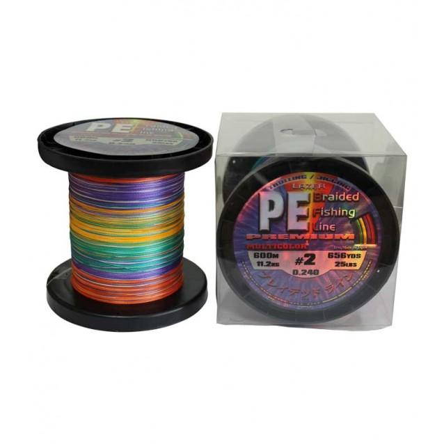 PE Braid Multicolour - 600m