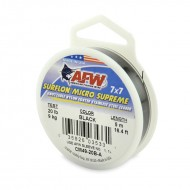 AFW SurflonMicroSupreme, Nylon Coated 7x7 Stainless Leader