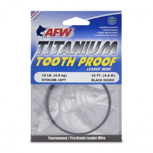 Titanium Tooth Proof, Single Wire