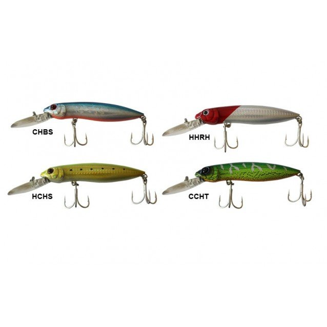 Sea Buzz Phantom Power Minnow 120F-DR