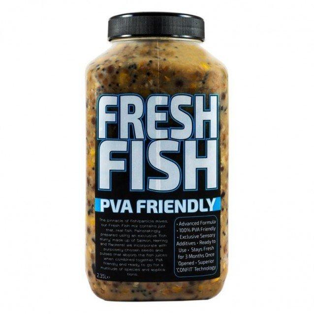 Микс от семена Munch Baits Fresh Fish 2.35ltr