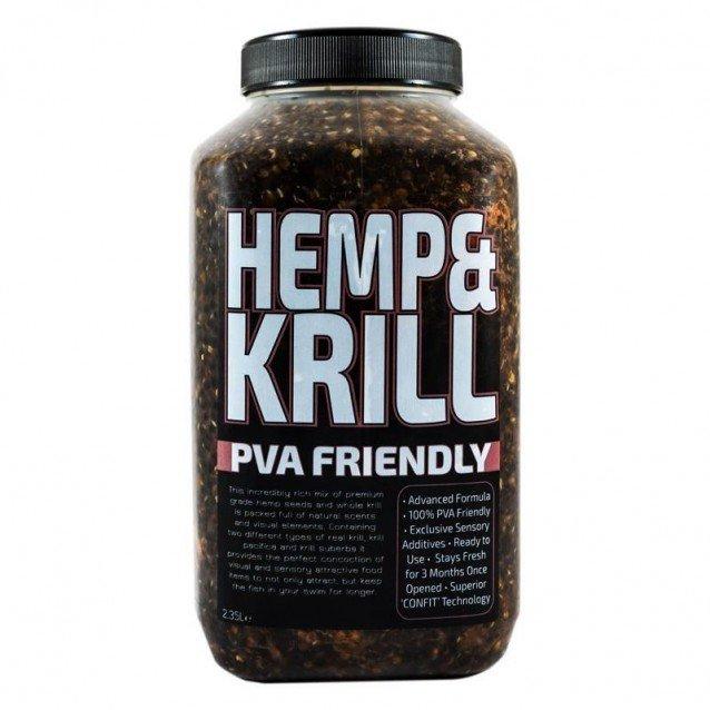 Микс от семена Munch Baits Hemp & Krill 2.35ltr