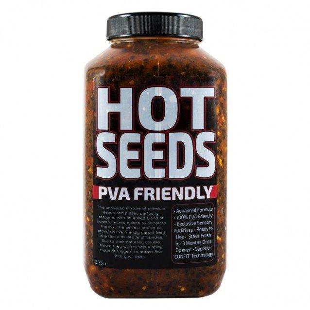 Микс от семена Munch Baits Hot Seeds 2.35ltr