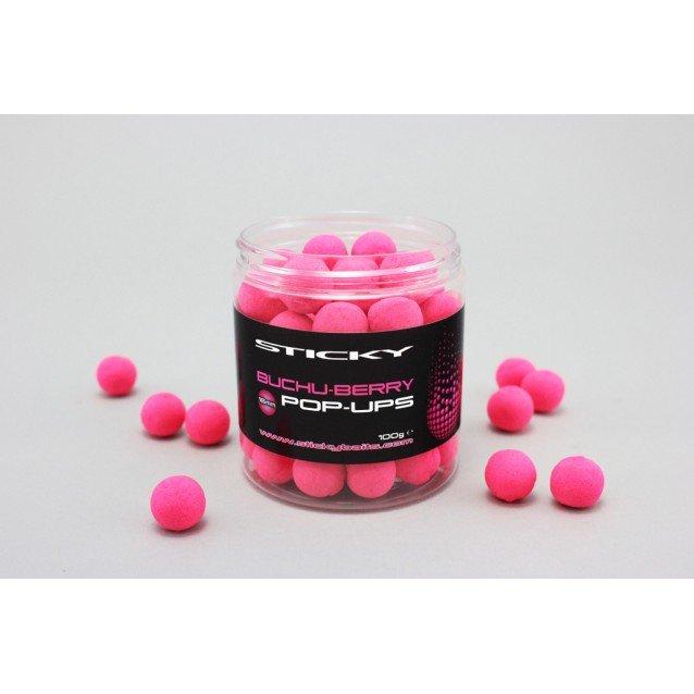 Плуващи топчета Buchu-Berry Pop-Ups Sticky Baits
