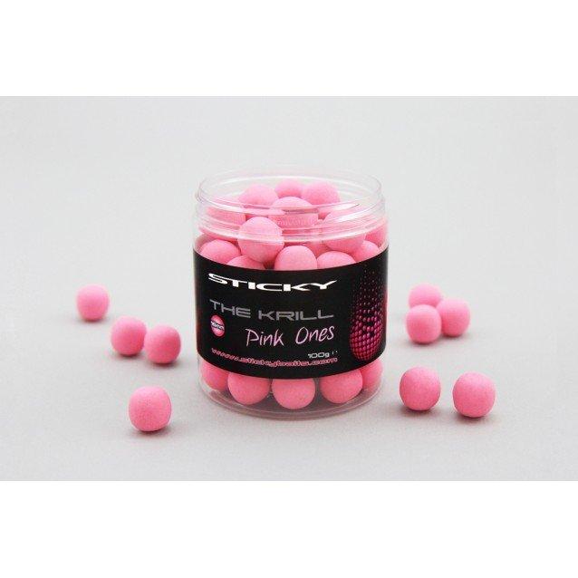Плуващи топчета The Krill Pink Pop Ups Sticky Baits