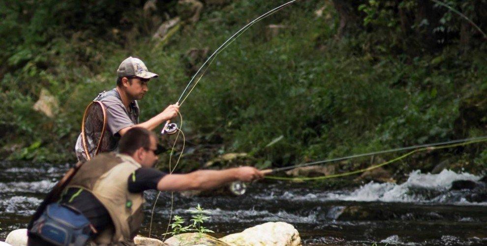 Риболов на муха с шнур - за начинаещи